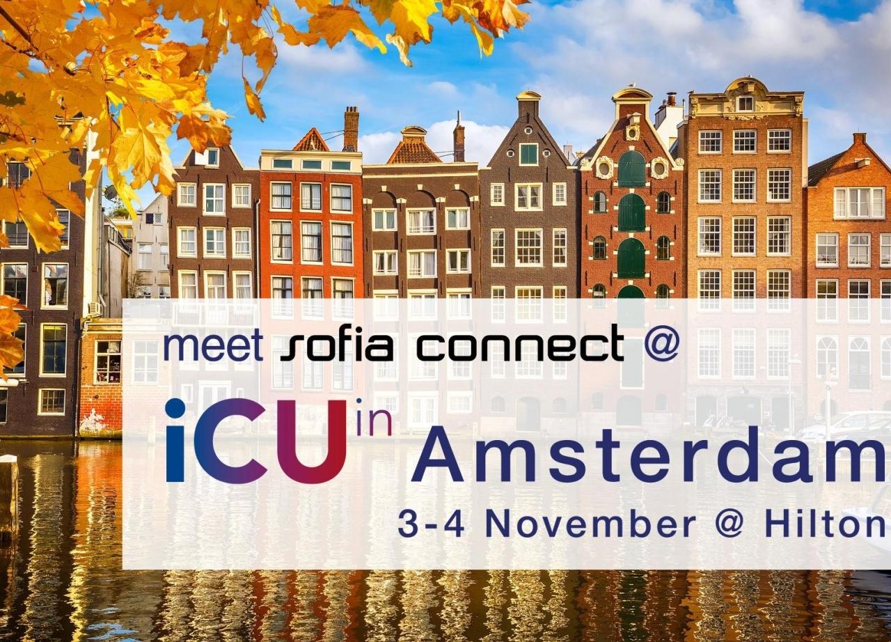 Meet us at iCU in Amsterdam