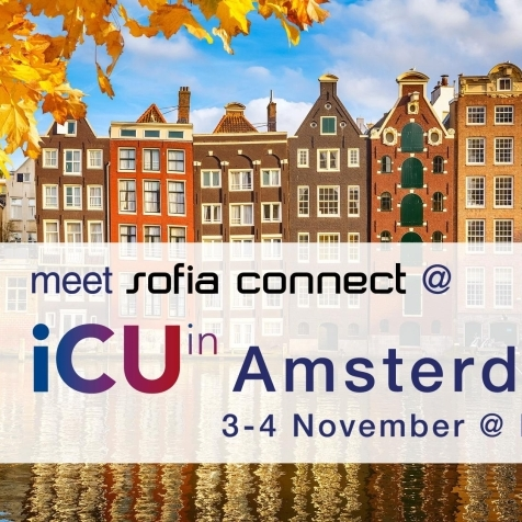 Meet us at iCU in Amsterdam