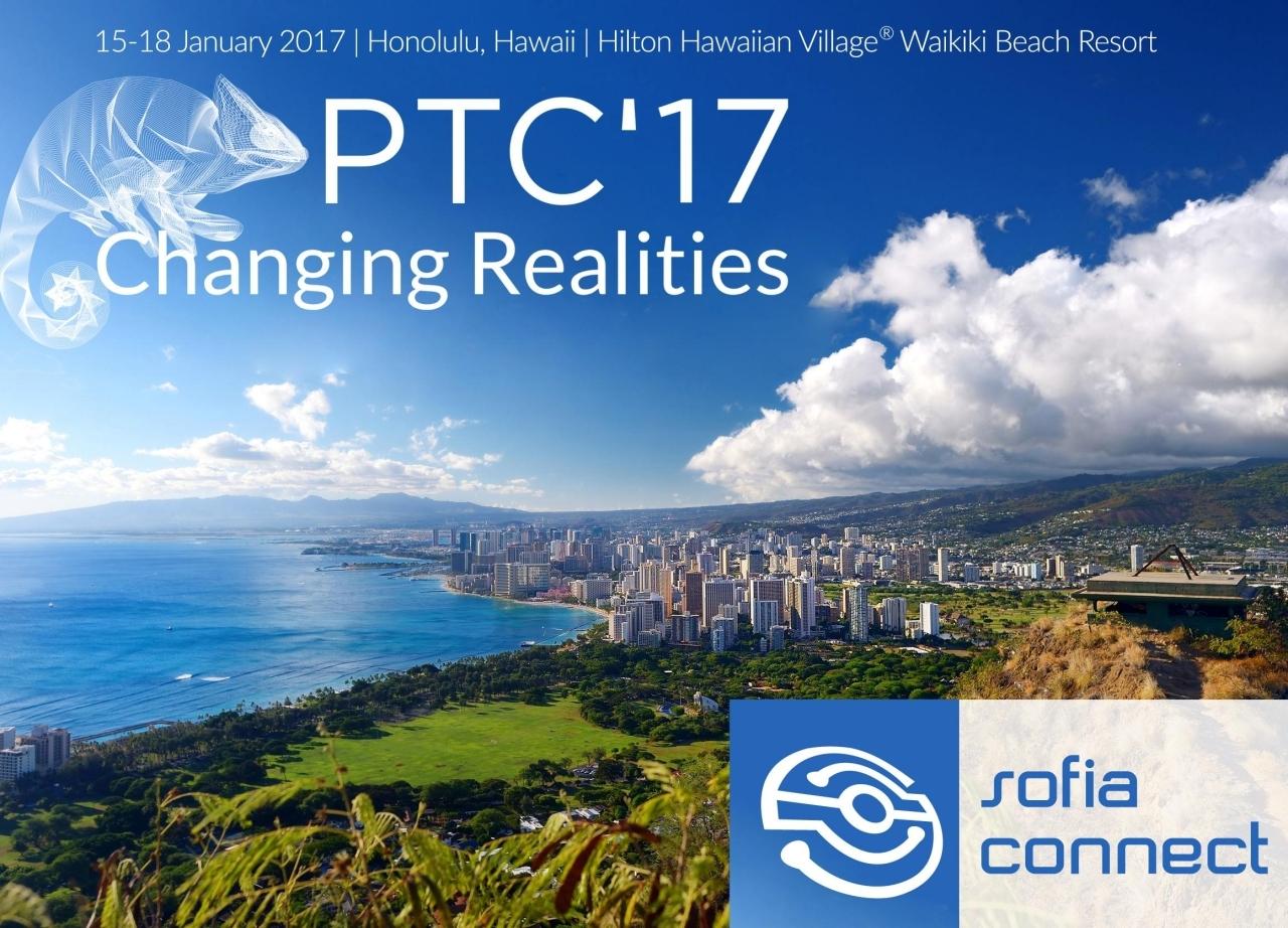 Meet us at PTC'17 in Honolulu, Hawaii