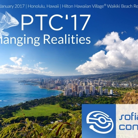 Meet us at PTC'17 in Honolulu, Hawaii