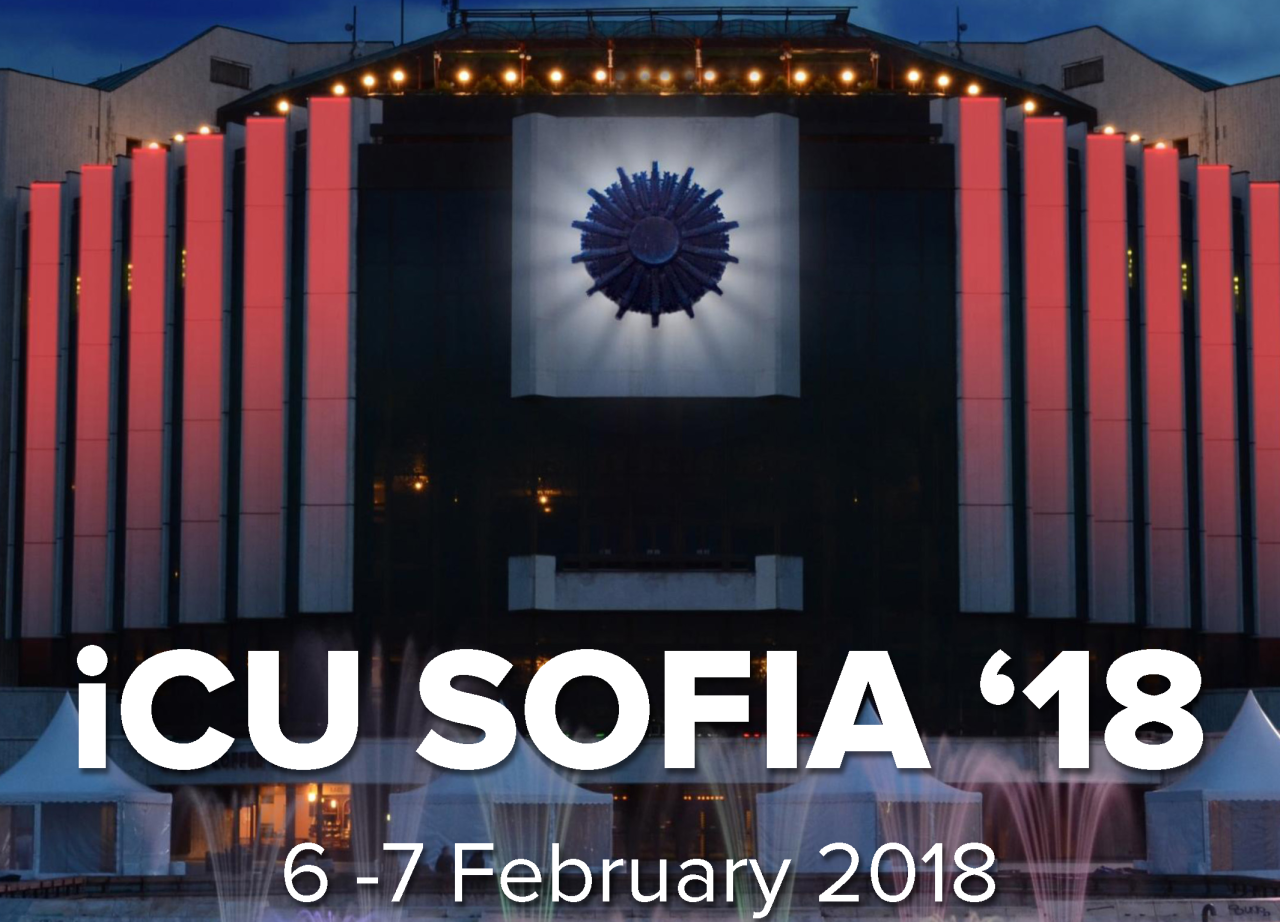 Welcome to Bulgaria at iCU Sofia '18