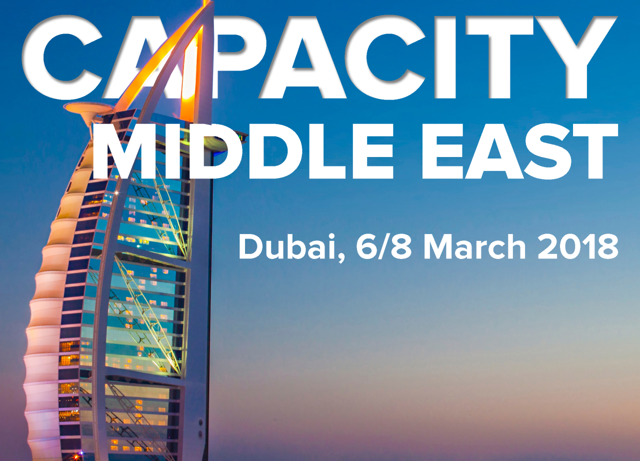 Sofia Connect team will be attending Capacity Middle East 2018